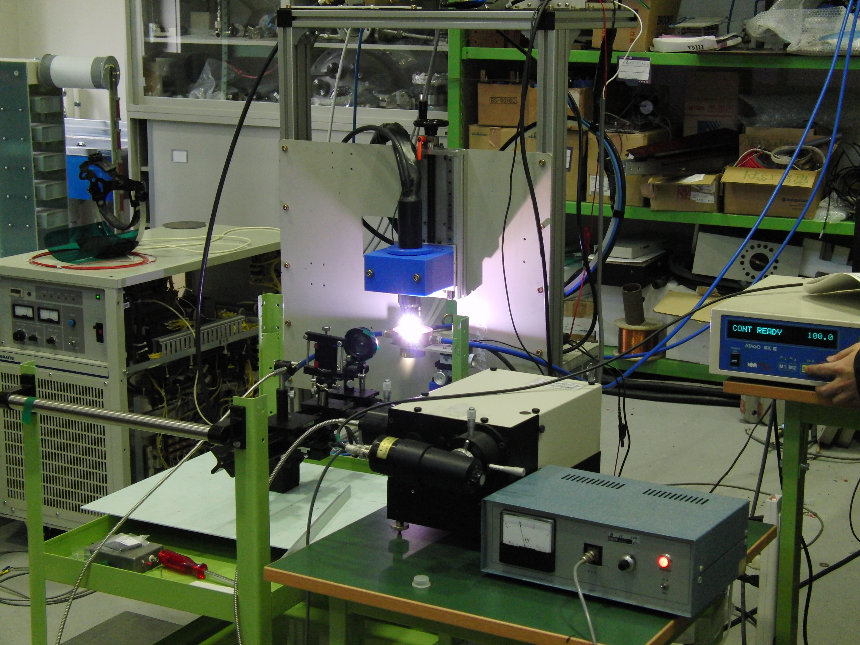 Application of Power Electronics Technique to High Power Plasma Production